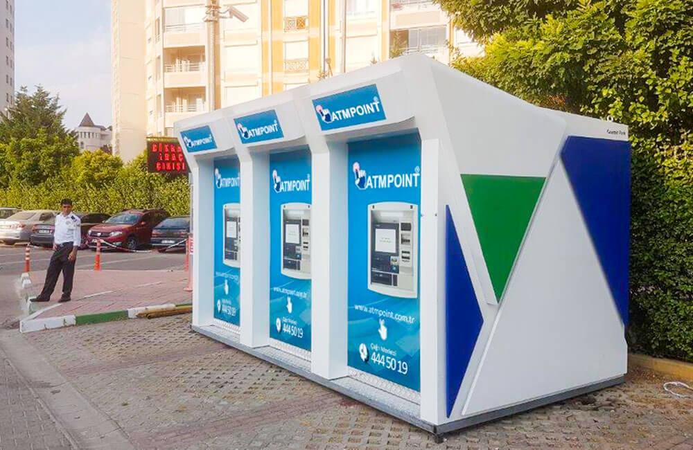 </p> <h6>Sıralı ATM Kabinleri</h6> <p>