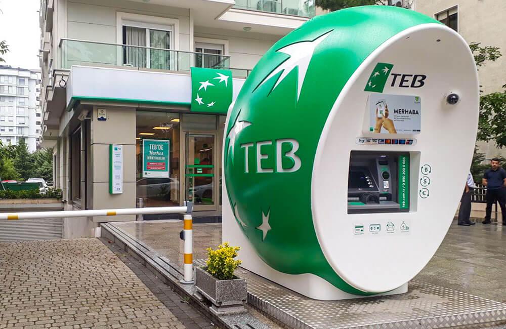 </p> <h6>Dış Mekan ATM Kabinleri</h6> <p>